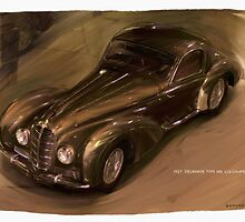 1938 Delahaye Type 145 V12 Coupe by RGMcMahon