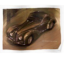 1938 Delahaye Type 145 V12 Coupe Poster