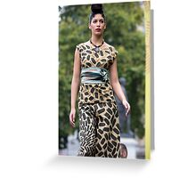 African Culture Festival London Greeting Card