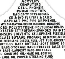 Oil Drop Sticker