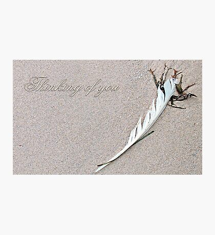 ~ Thinking of You ~ Photographic Print