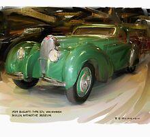 1939 Bugatti 57c Van Vooren by RGMcMahon