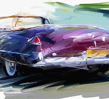 Classic Cadillac Convertable by RGMcMahon
