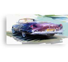 Classic Cadillac Convertable Metal Print