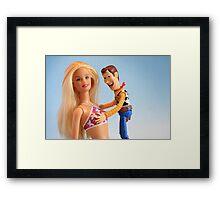 Photo-shoot blooper Framed Print