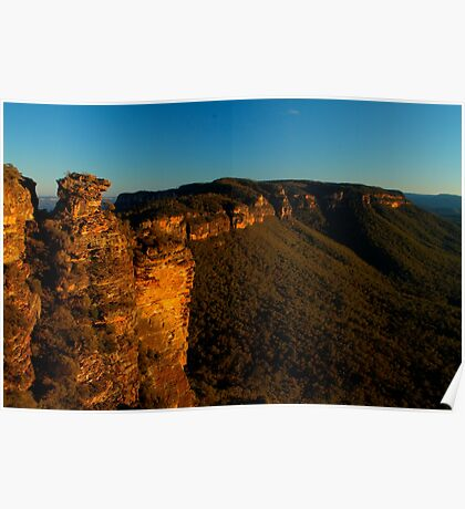 Boar's Head Rock, Katoomba. Poster