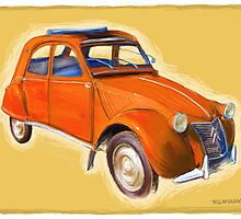 Citroen 2CV by RGMcMahon