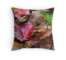 Authumn Leaves Throw Pillow