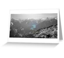 Mountain Landscape 22 Canada  Greeting Card