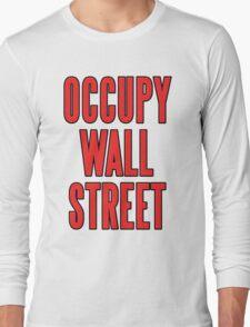 Occupy Wall Street Long Sleeve T-Shirt