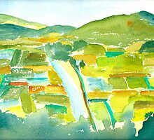 Taro Fields of Kauai by Sally Griffin