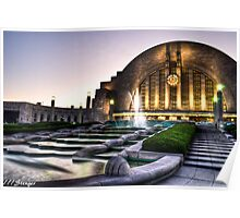 Union Terminal, Cincinnati Ohio Poster