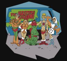 Mystery of the Universe Inc  (Scooby Doo/He-man Mash-up) Kids Clothes