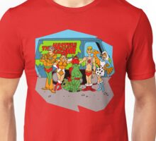 Mystery of the Universe Inc  (Scooby Doo/He-man Mash-up) Unisex T-Shirt