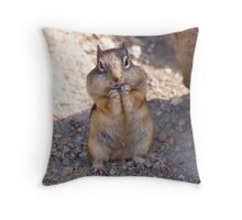 Just One More ... Pleeeze Throw Pillow