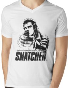Snatcher Mens V-Neck T-Shirt