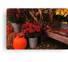 Autumn Welcome Canvas Print