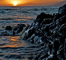 Lava Rock Sunset II by Mark Iocchelli