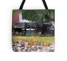 Workless Hay Wagon Tote Bag