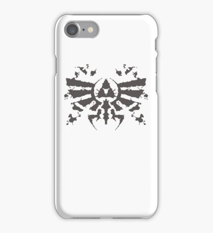 Hyrule Rorschach iPhone Case/Skin
