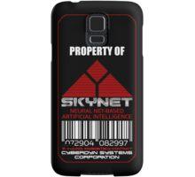 Property of Skynet iPhone case Samsung Galaxy Case/Skin