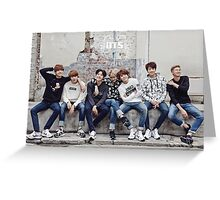 BTS/Bangtan Sonyeondan - Photoshoot 2015 #2 Greeting Card