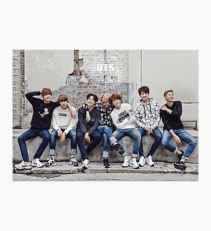 BTS/Bangtan Sonyeondan - Photoshoot 2015 #2 Photographic Print
