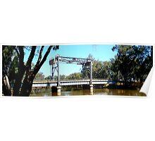 Nyah Bridge - Murray River Victoria Poster