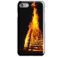TAG bonfire  iPhone Case/Skin