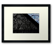 Keeping Our Skies Safe And Secure Framed Print