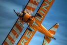 Breitling Stearman Wingwalker Underside by Nigel Bangert