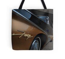 Fury, Vintage Wide Angle View Tote Bag