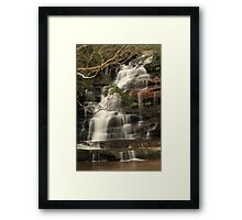The Top Falls Framed Print