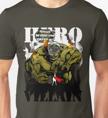Professor Mad Brainer Smash! Unisex T-Shirt