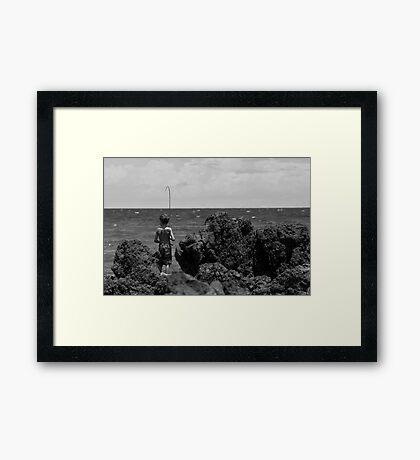 Mediterranean Tom Sawyer Framed Print