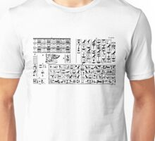Hieroglyphic 3 Unisex T-Shirt
