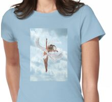 A Lone Angel Womens Fitted T-Shirt