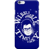 Wibbly-wobbly, timey-wimey... stuff. iPhone Case/Skin