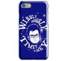 Wibbly-wobbly, timey-wimey... stuff. iPhone Case/Skin