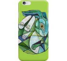 The Hare in the Moon iPhone Case/Skin