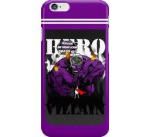 Professor Mad Brainer Smash! iPhone Case/Skin