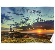 Sunset at Vlamingh Point Poster