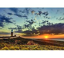 Sunset at Vlamingh Point Photographic Print