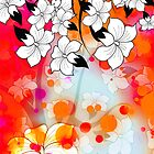 Floral Design (iPhone case) by Maria Dryfhout