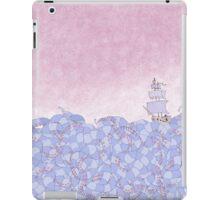 Crossing the Wiggling Sea iPad Case/Skin
