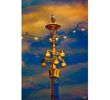 Evening On The Seafront In Eastbourne Photographic Print