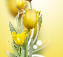 Spring Yellow (iPhone case) by Maria Dryfhout