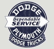 Dodge Plymouth Dependable Service Sign by KlassicKarTeez