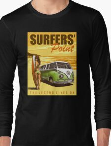 VW Kombi Surf Design Long Sleeve T-Shirt