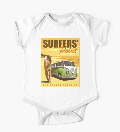 VW Kombi Surf Design One Piece - Short Sleeve